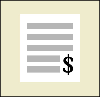 Image - Invoice Graphic with link to Bank Payment
